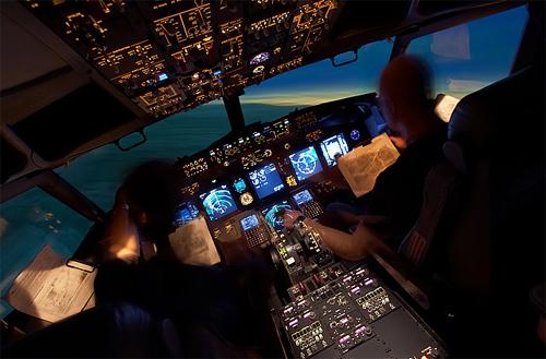 simulateur boeing 737